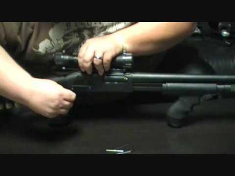 Gun Scopes 12 Gauge Shotgun Saddle Style Mount Matte Black Finish ...