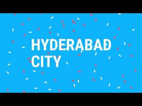 Hyderabad, capital of Telangana and Andhra pradesh