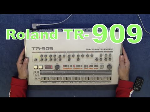 mf 21 roland tr 909 look inside and repair service youtube. Black Bedroom Furniture Sets. Home Design Ideas