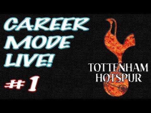 FIFA 14 - Tottenham Career Mode LIVE! - #1 - Welcome to White Hart Lane