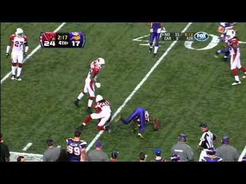 Vikings Do or Die 4th Quarter 17 Point Comeback week 9, 2010