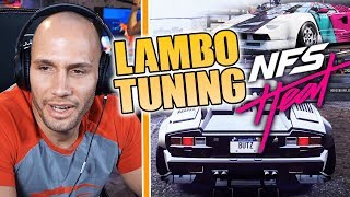 LAMBO TUNING in NFS HEAT! 🏎 (+ STREAM SNIPER) 😂 | Flying Uwe Gaming