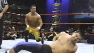 """Raw 12 29 97 Jerry Lawler and Brian Christopher vs. Taka and George """"The Animal"""" Steele"""