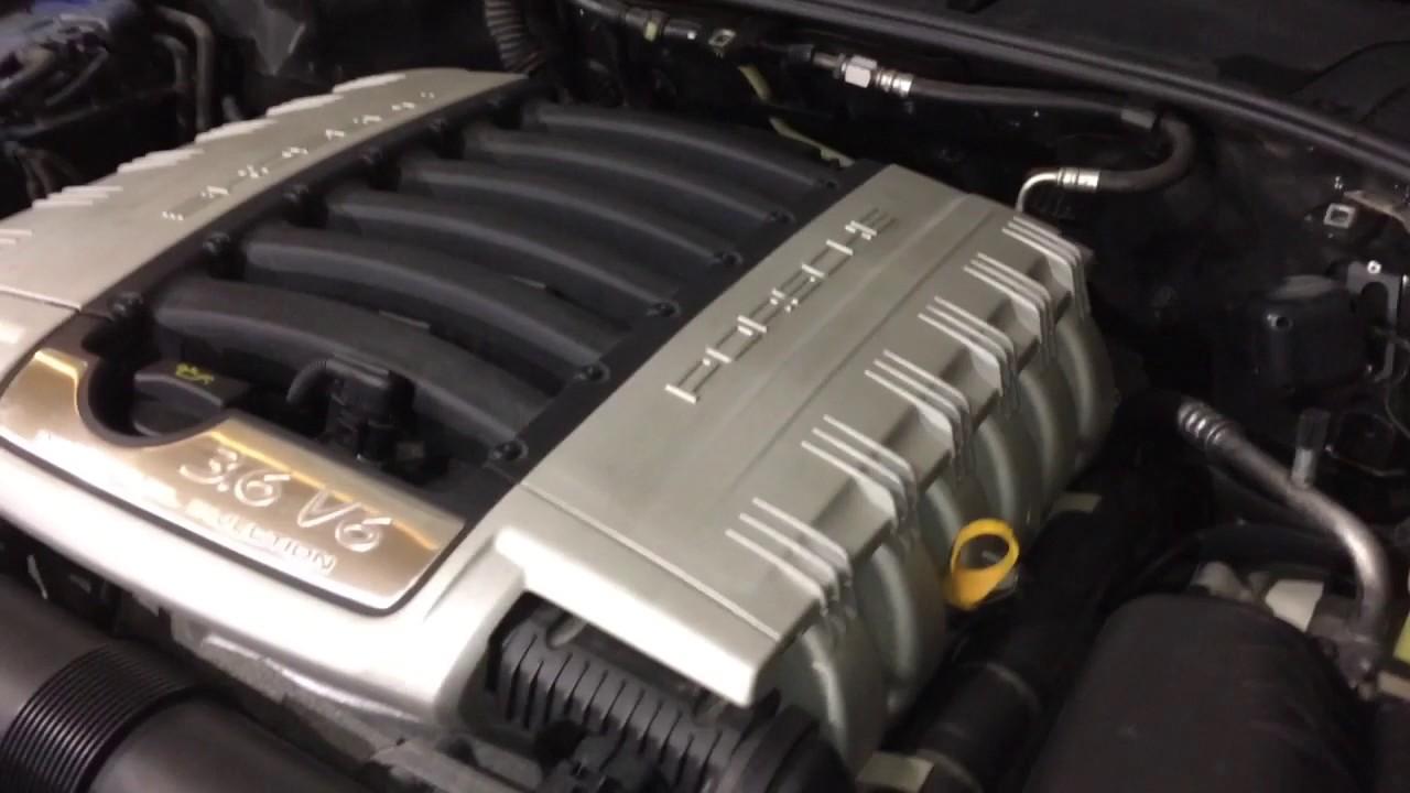 Porsche Cayenne 957 V6 36 Fsi Timing Chain Noise Youtube Engine Diagram