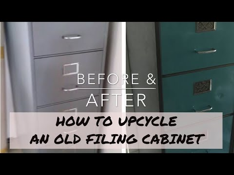 DIY File Cabinet Upcycle • Makeover {HOME}