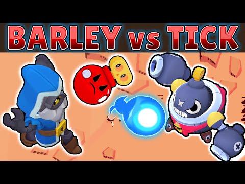 BARLEY vs TICK | 1 vs 1 | El mejor Lanzador