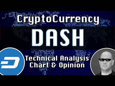DASH Update CryptoCurrency Technical Analysis Chart (DashPay)