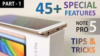 Redmi Note 5 Pro Tips and Tricks | 30+ Special Features
