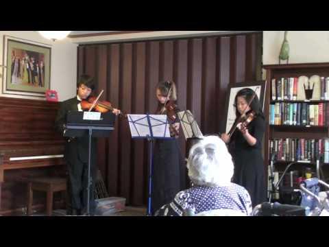 San Diego Youth Symphony - Outreach - Casa De Manana, Trio