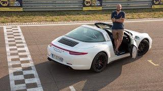 """Porsche 911 Targa 4 GTS   Il bello di guidare una sportiva """"sempre"""""""