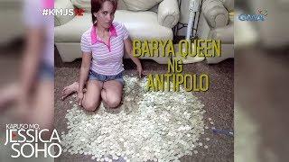 Kapuso Mo, Jessica Soho: Barya queen ng Antipolo, kilalanin!