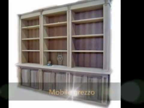 progettazione e produzione mobili artigianali classici in