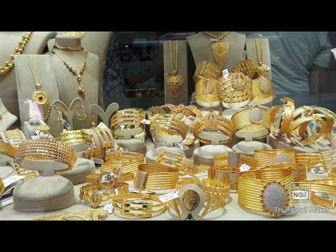 Gold jewelry designs in Turkey
