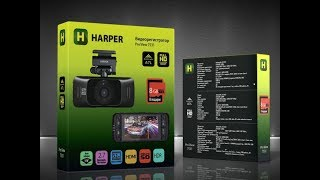Обзор видеорегистратора - Harper Pro View 7531.