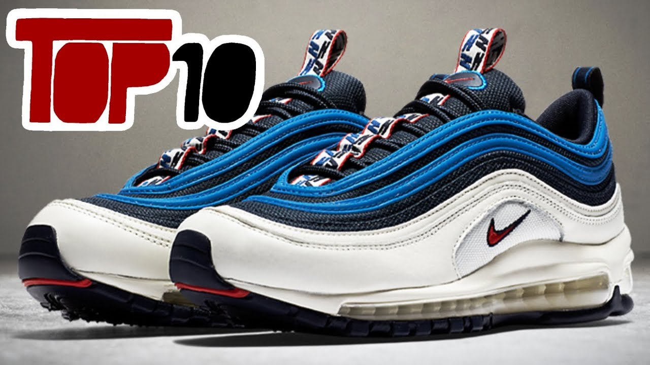 c8451299d2 Top 10 Nike Air Max 97 Shoes of 2018 - YouTube