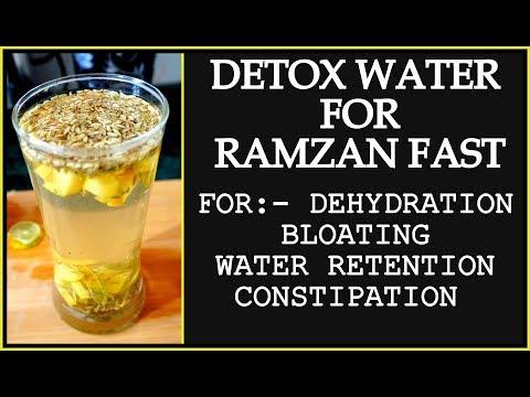 Ramadan Detox Water Recipe for Weight Loss | How to Lose Weight Fast in Ramadan | Summer Detox Water