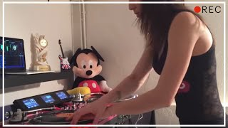 DJ Lady Style - Numark Dashboard Demo (hip hop mix)