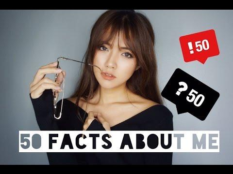 关于我的50个小秘密 ♡ 50 Facts About Me