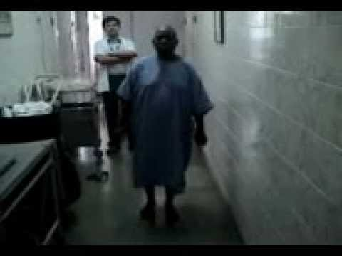 Knee Surgery done by Dr. Milind Patil of Nigerian Patient..3gp