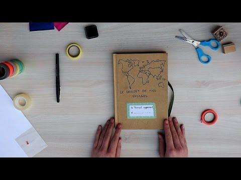 Réalise ton carnet de voyage - DIY - EPOPIA