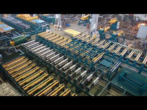 Производство прокатных линий от Липецкого завода профилегибочного оборудования