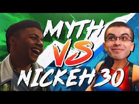 Myth vs Nick Eh 30, Liquid POACH - Pro Playgrounds (1v1 BUILD BATTLES!)