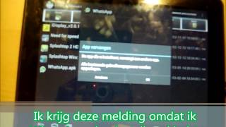 Hoe installeer je WhatsApp op je tablet