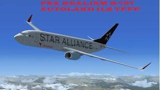 FSX 2016+addons REALISM Flight MMUN-TFFF (Cancun-Martinika) Autoland ILS