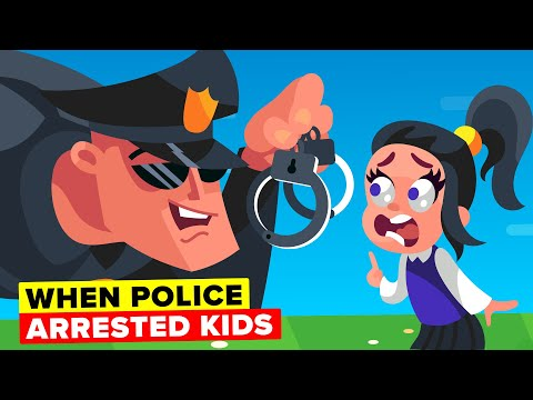 Weird Times Police Arrested Kids