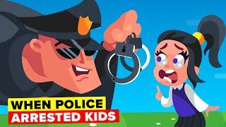 Weird Times Police Arrested Kids