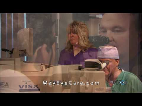 Mike McCrary had LASIK by Carl J May MD at The May Eye Care Center in Pennsylvania 2009