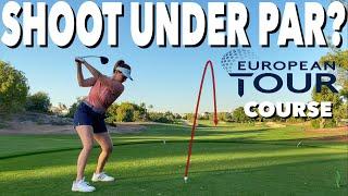 CAN WE BREAK PAR ON A EUROPEAN TOUR GOLF COURSE? TEXAS SCRAMBLE CHALLENGE 3 PROFESSIONAL GOLFERS
