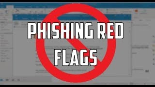 Phishing Red Flags