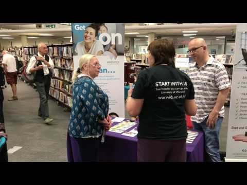 Festival of Learning Information Fair at Central Library