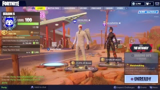 """FORTNITE """"THE GETAWAY"""" new game mode ( 596 wins )"""