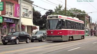 Streetcars/Trams in Toronto, Canada 2018