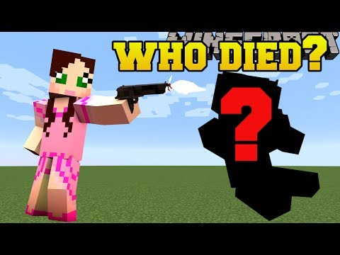 Minecraft: WHO DIED!?! - ARRENDOR - Custom Map [5]