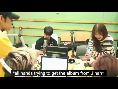 [ENG SUB] 160922 Kwon Jinah x DAY6 interaction cut on Sukira Radio