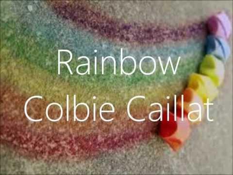 Lirik Lagu Colbie Caillat - Rainbow