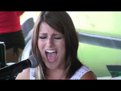 Hey Monday - How You Love Me Now Live - Acoustic Warped Tour MN 2010