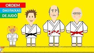 Ordem das Faixas de Judô CBJ - Judo Infantil DA FAIXA BRANCA À FAIXA VERMELHA | Judoquinhas thumbnail