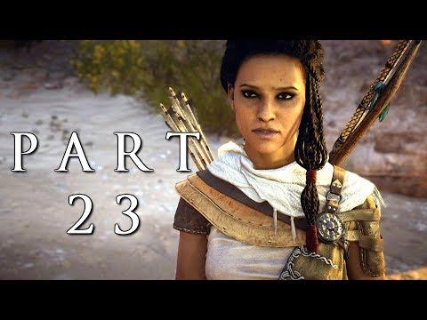 ASSASSIN'S CREED ORIGINS Walkthrough Gameplay Part 23 - Pothinus (AC Origins)