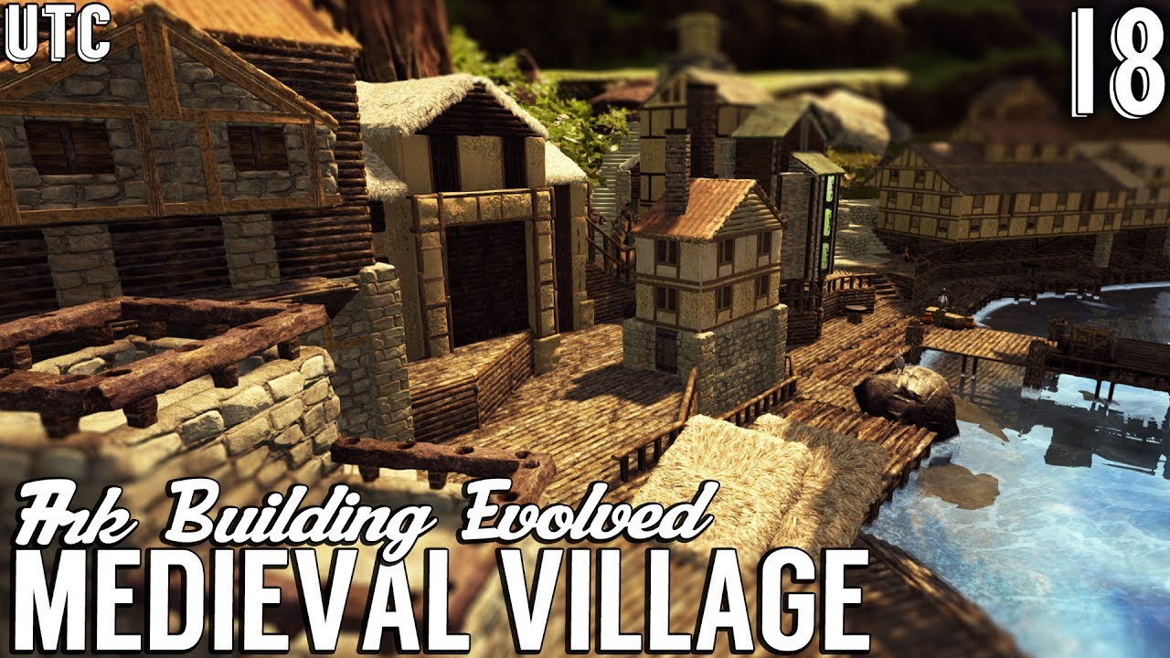 Ark Building Evolved W Utc How To Build A Whole Town