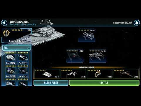 SWGOH Star Wars Galaxy of Heroes Ships 2.0 Tarkin (lead)