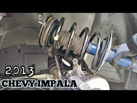 FRONT STRUT REPLACEMENT (2006-2013 CHEVY IMPALA)