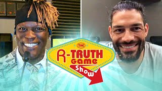 Roman Reigns tests his WrestleMania knowledge: The R-Truth Game Show sneak peek