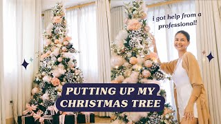 Putting Up My Christmas Tree with a Pro Event Stylist 🎄 | Janine Gutierrez