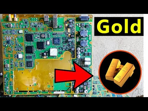 ♻E-waste Recycling for Gold Recovery | Telecommunication boards