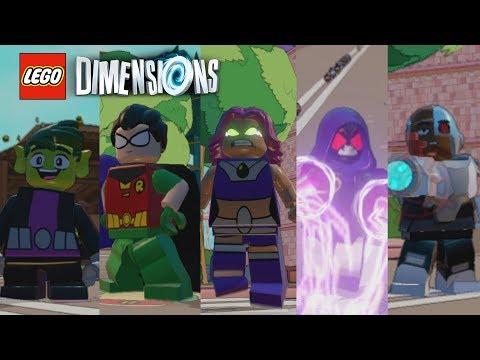 Lego Dimensions - Teen Titans Go! (ALL Titans Showcase)