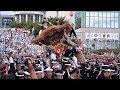 平成29年 岸和田だんじり祭 ラスト(カンカン場)Kishiwada Danjiri Matsuri2017/9/17